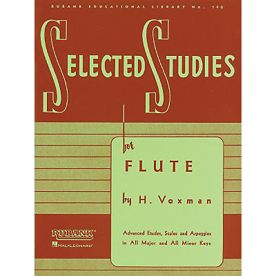 Hal Leonard Selected Studies For Flute