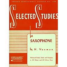 Hal Leonard Selected Studies For Saxophone