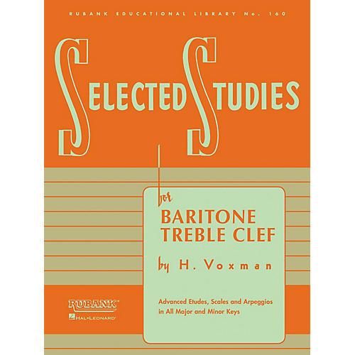 Rubank Publications Selected Studies (for Baritone T.C.) Method Series