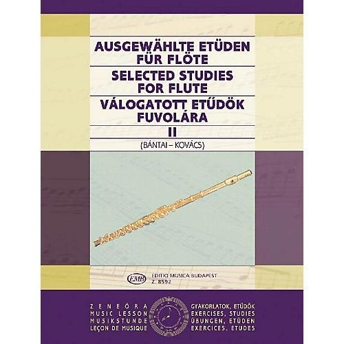 Editio Musica Budapest Selected Studies for Flute - Volume 2 EMB Series