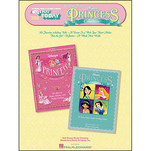 Hal Leonard Selections From Disney's Princess Collections E-Z Play 398