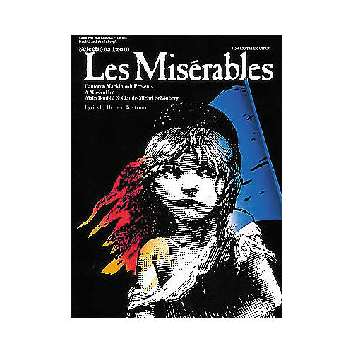 Hal Leonard Selections from Les Miserables Guitar Tab Book