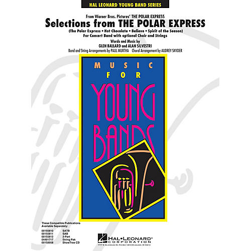 Hal Leonard Selections from The Polar Express - Concert Band Level 3 arranged by Audrey Snyder and Paul Murtha