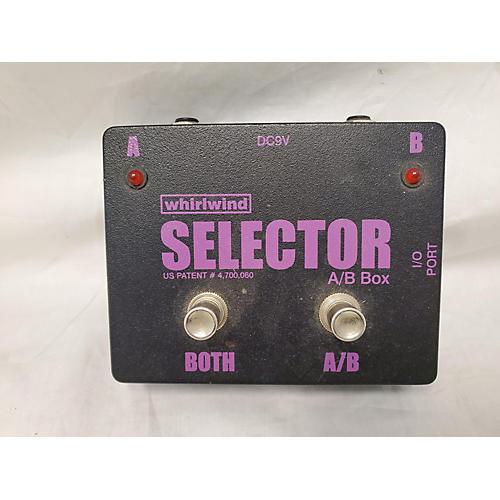Selector AB Box Pedal