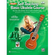 Alfred Self-Teaching Basic Ukulele Course Book & CD