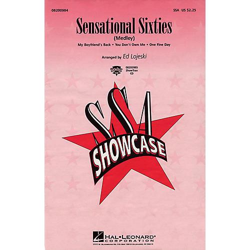 Hal Leonard Sensational Sixties (Medley) ShowTrax CD Arranged by Ed Lojeski
