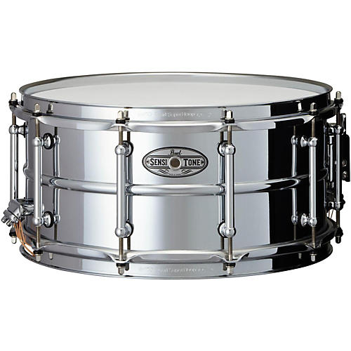 Pearl Sensitone Beaded Steel Snare Drum