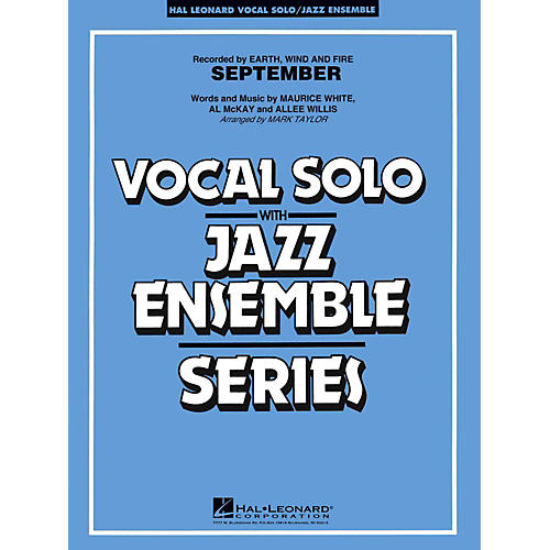 Hal Leonard September Vocal Solo Jazz Band Level 3 - 4