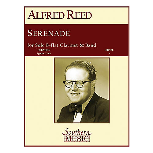 Southern Serenade (Band/Instrumental Solo) Concert Band Level 4 Composed by Alfred Reed