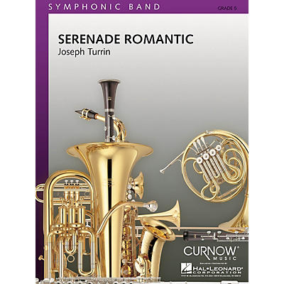 Curnow Music Serenade Romantic (Grade 5 - Score and Parts) Concert Band Level 5 Composed by Joseph Turrin