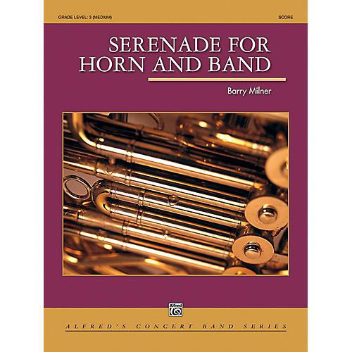 Alfred Serenade for Horn and Band Concert Band Grade 3 (Medium)