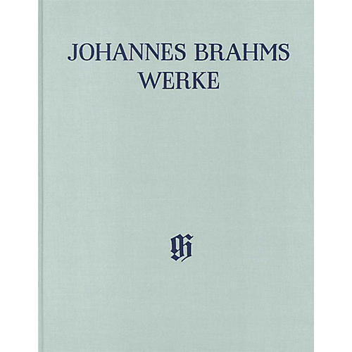 G. Henle Verlag Serenades Henle Edition Series Hardcover by Johannes Brahms Edited by Michael Musgrave