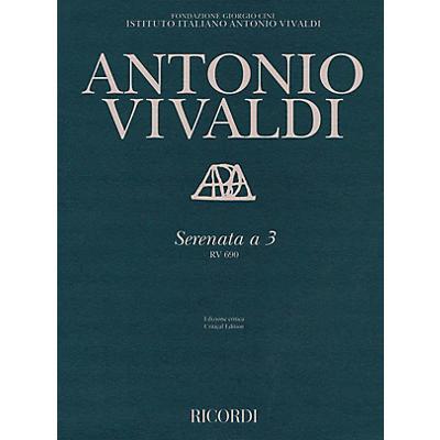 Ricordi Serenata a 3, RV 690 String Series Softcover  by Antonio Vivaldi Edited by Alessandro Borin