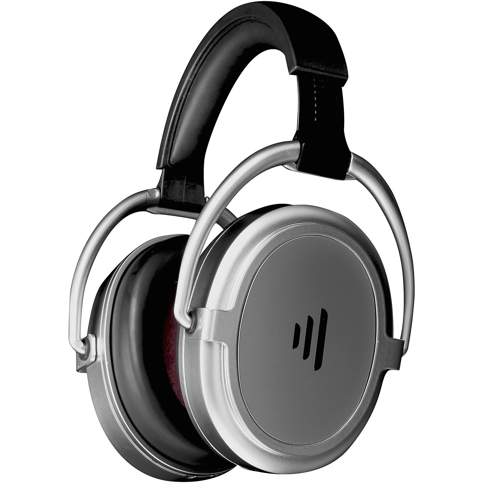 Direct Sound Serenity Plus+ Rechargable Luxury Travel Headphone Satin in Chrome Finish