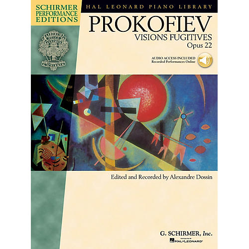 G. Schirmer Sergei Prokofiev - Visions Fugitives, Op. 22 Schirmer Performance Editions BK/Audio Online by Prokofiev