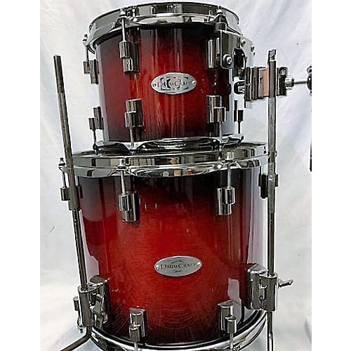 DrumCraft Series 8 Drum Kit Crimson Red Trans