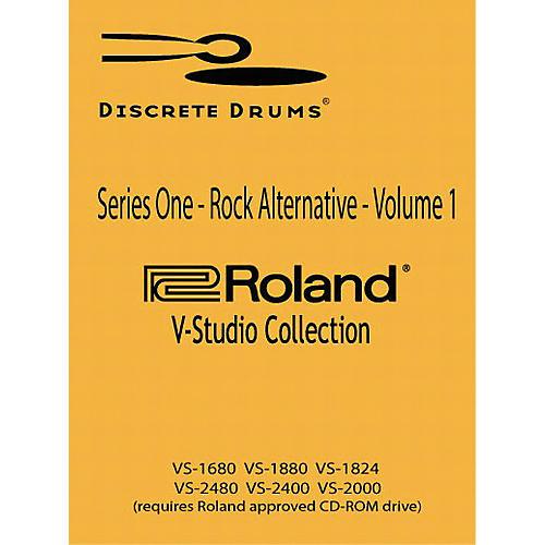 Discrete Drums Series One - Rock/Alternative - Volume 1 for V-Studio (CD-ROM)