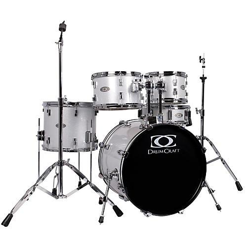 DrumCraft Series Three 5-Piece Progressive Drumset White Noise