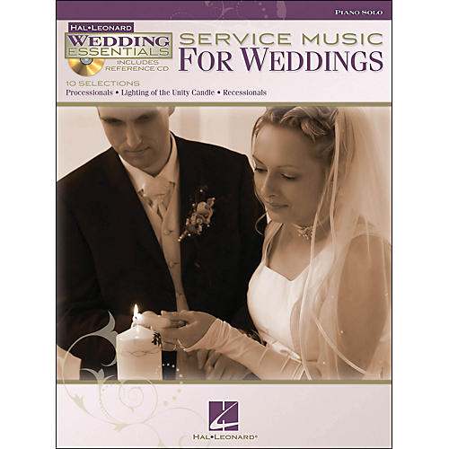 Hal Leonard Service Music for Weddings - Wedding Essentials Series Book/CD arranged for piano solo