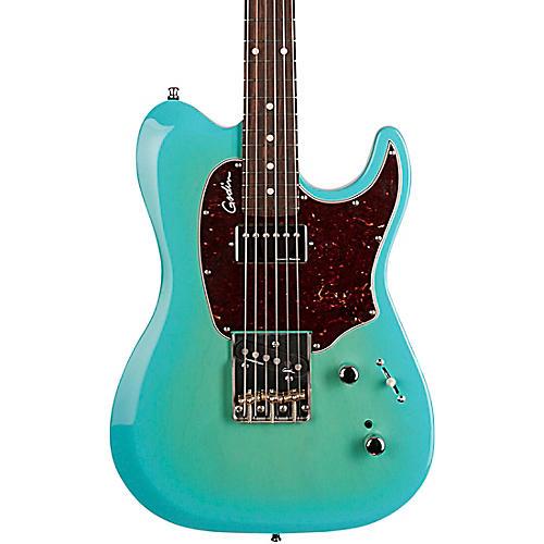 godin session custom t 59 electric guitar blue tortoise pickguard musician 39 s friend. Black Bedroom Furniture Sets. Home Design Ideas