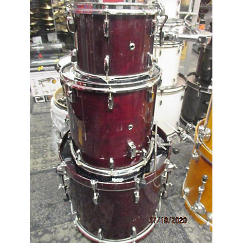 Pearl Session Prestige Session Select Drum Kit Wine Red