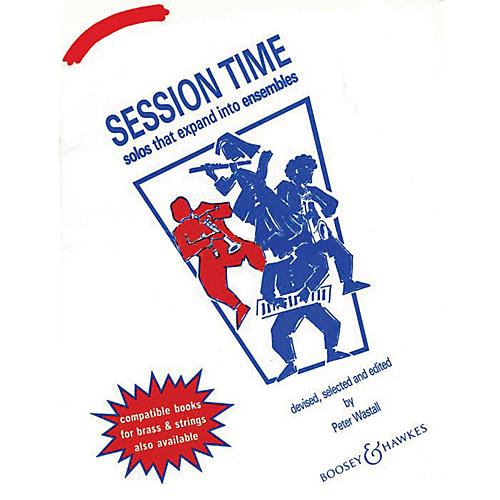 Boosey and Hawkes Session Time (Woodwind Piano Accompaniment) Concert Band Composed by Peter Wastall