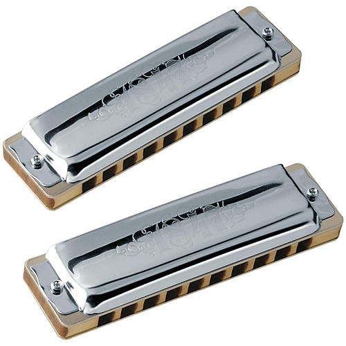 SEYDEL Set of 5 - Blues 1847 Harmonicas CLASSIC and Softcase