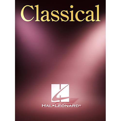 Hal Leonard Sette Canzoni Veneziane Del Xviii Secolo Per Voce E Chitarra Suvini Zerboni Series