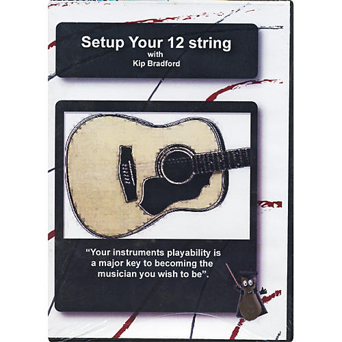 great nutshell productions setup your 12 string acoustic guitar dvd musician 39 s friend. Black Bedroom Furniture Sets. Home Design Ideas