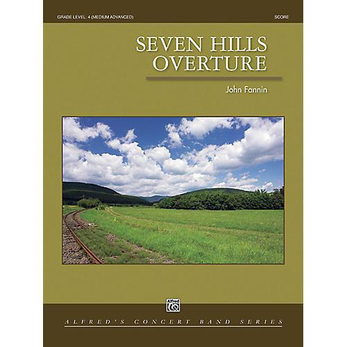 Alfred Seven Hills Overture Concert Band Grade 4 Set