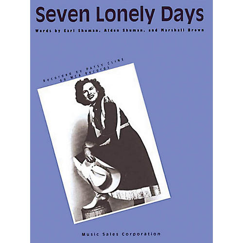 Music Sales Seven Lonely Days Music Sales America Series Performed by Patsy Cline
