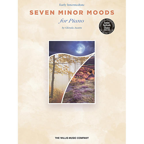 Willis Music Seven Minor Moods (Early Inter Level) Willis Series Book by Glenda Austin