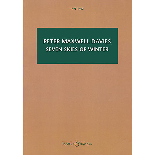 Boosey and Hawkes Seven Skies of Winter Boosey & Hawkes Scores/Books Series Softcover Composed by Peter Maxwell Davies
