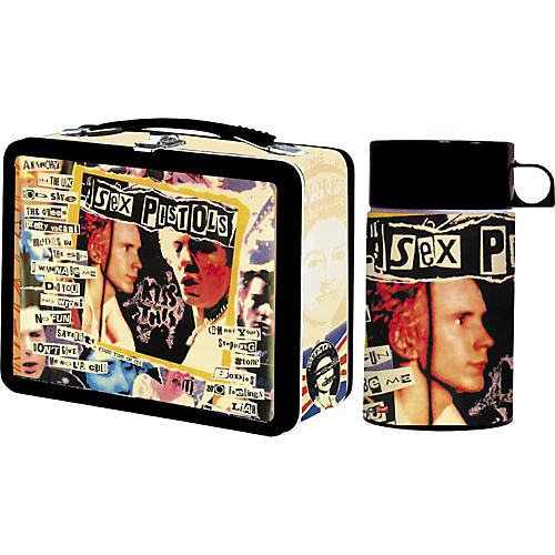Gear One Sex Pistols Lunchbox with Drink Container
