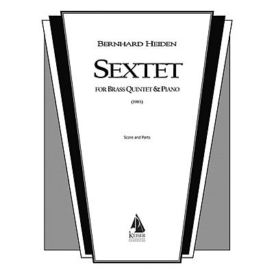Lauren Keiser Music Publishing Sextet (for Brass Quintet and Piano) LKM Music Series by Bernhard Heiden