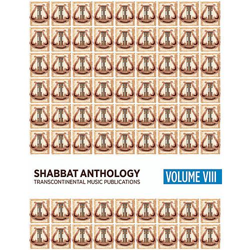 Transcontinental Music Shabbat Anthology VIII Songbook Transcontinental Music Folios Series Softcover