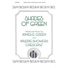 Hinshaw Music Shades of Green SA composed by James Green