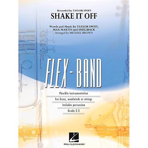 Hal Leonard Shake It Off - FlexBand Concert Band Series Level 2 - 3