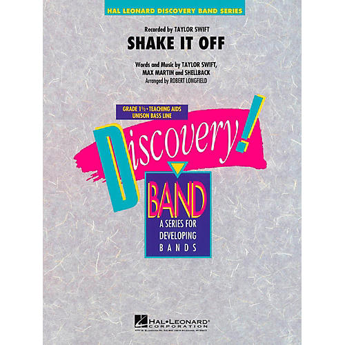 Hal Leonard Shake It Off Concert Band Level 1.5