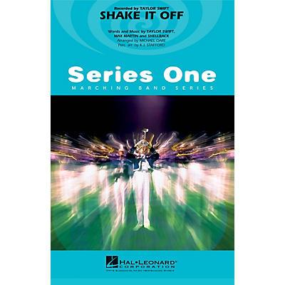Hal Leonard Shake It Off Marching Band Level 2 by Taylor Swift Arranged by Michael Oare