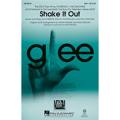 Hal Leonard Shake It Out SSA by Glee Cast