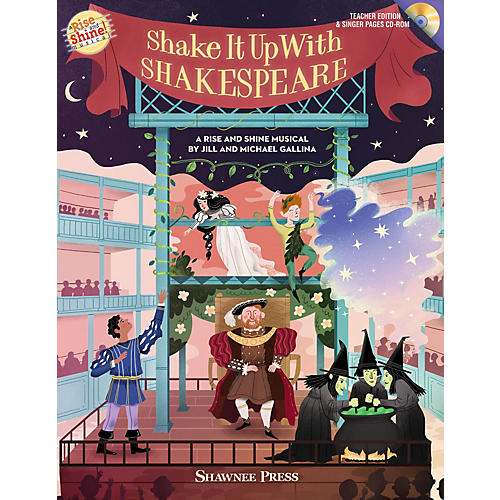 Shawnee Press Shake It Up with Shakespeare (A Rise and Shine Musical) Performance/Accompaniment CD by Jill Gallina