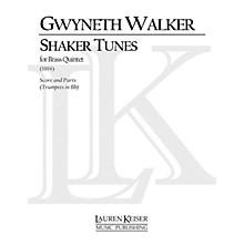 Lauren Keiser Music Publishing Shaker Tunes (B-flat Trumpets) LKM Music Series by Gwyneth Walker