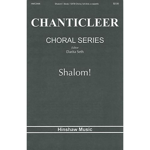 Hinshaw Music Shalom SATB DV A Cappella composed by Elio Bucky