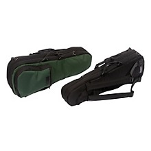 Shaped Viola Case Slip-On Cover with Combination Straps Black