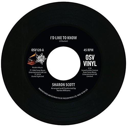 Alliance Sharon Scott - I'd Like to Know/I'm Not Afraid