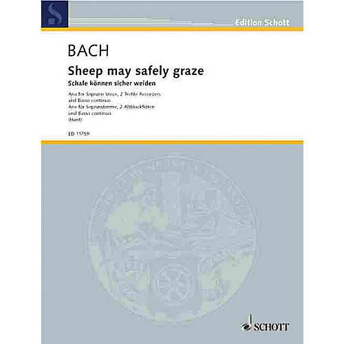 Schott Sheep May Safely Graze (BWV 208) Schott Series Composed by Johann Sebastian Bach