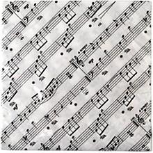 AIM Sheet Music Beverage Napkin - 20 Pack