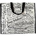 AIM Sheet Music Collage Tote Bag thumbnail