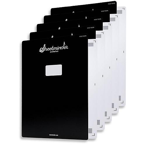 Hal Leonard Sheetminder Soloist Sheet Music Folder 5-Pack